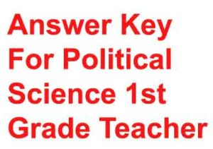 rpsc-Answer-Key-For-Politic