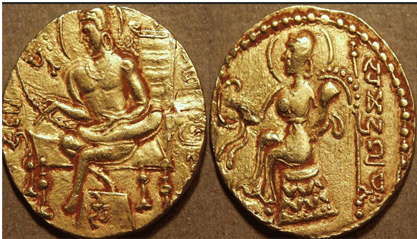 Coin-Samudragupta