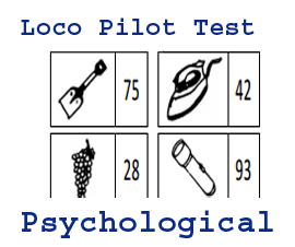 Psychological and Aptitude Test in Railway Loco Pilot and all exam trick