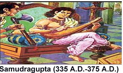 Samudragupta समुद्रगुप्त Napoleon related history