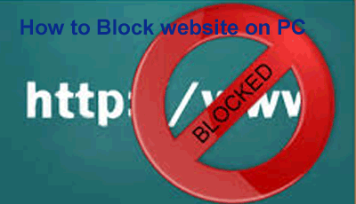 How to Block some Website on Your Computer PC