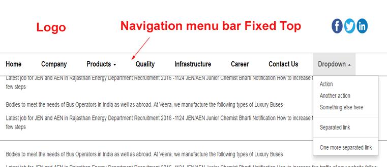 navigation-menu-bar-fixed-top