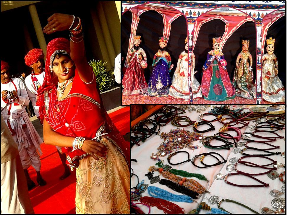 Rajasthan attire and Jewelery