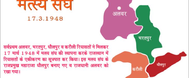 Integration of Rajasthanराजस्थान का एकीकरण
