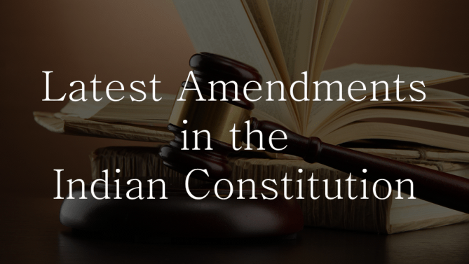The process of amending the Constitution