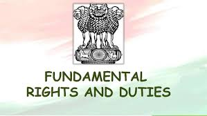 Fundamental duties of citizens of India