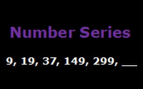 NUMBER SERIES FOR ALL COMPETITIVE EXAM 14 JANUARY 2017