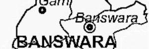 banswara-district-map
