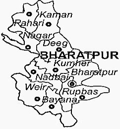 bharatpur-district-map