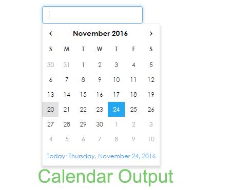 calendar-output