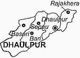 Dhaulpur-map