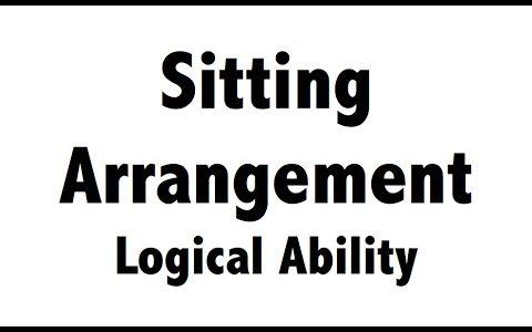 Seating Arrangement important Chapter in Reasoning