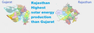 The major source of energy in Rajasthan