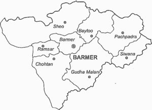 barmer-district-map