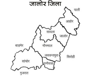jalore-district-map