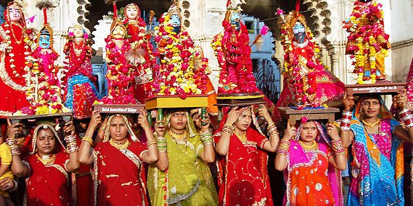 Important Questions Related Festivals in Rajasthan