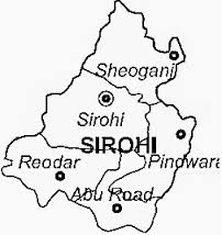 sirohi-district-map