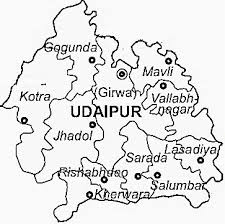 udaipur-district-map