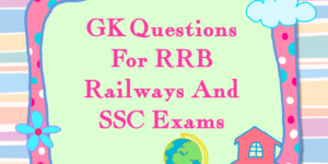 General-knowledge-Related-SSC-Bank-Railway