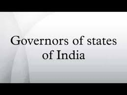 GK Question With Answer Related Governor of states of India