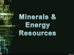 Rajasthan State's Major Mineral And Energy Resources