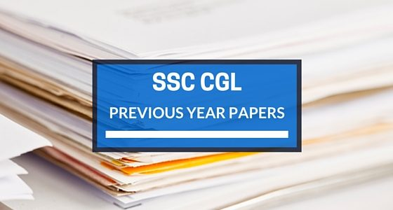 SSC CGL Previous Question Paper with Answer Tier 1 and Tier 2