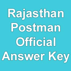 raj-post-exam-official-answer key