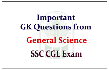 Science GK-Related Important Questions With Answer 21-2-2017