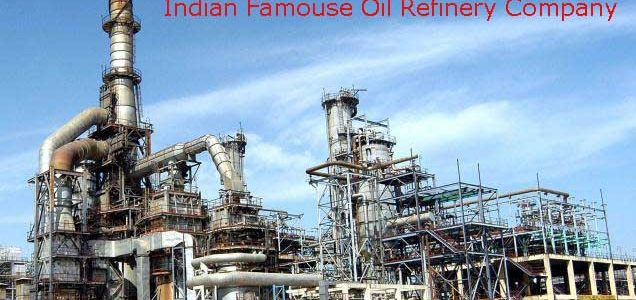 List of Most Famous oil Refineries Company In India