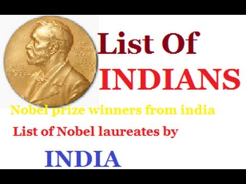List of Nobel Prize winners