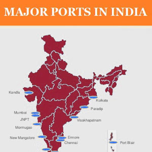 Major ports in India