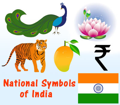 National symbols of different countries.