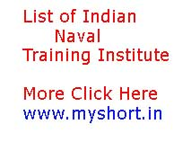 List of Indian Naval Related Famous Training Institute