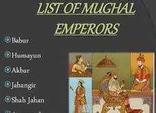 List of Famous Mughal Rulers And Their Rule