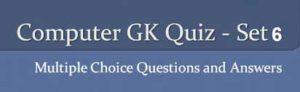 computer gk questions set 6