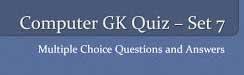 computer gk questions set 7