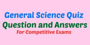 General Science Quiz