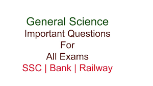 General Science Related Daily Question With Answer 30-05-2017