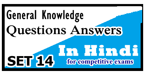 Hindi Grammar Subject Objective Most Question With Answer Set 14