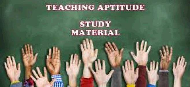 Teaching And Learning Aptitude Question For REET Exam Set 40