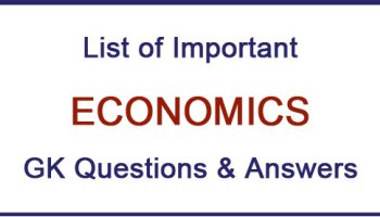 Indian Economy General Knowledge For All Competitive Exam Set 38