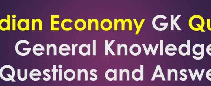 Indian Economy General Knowledge For All Competitive Exam Set 40