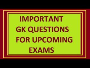 Indian GK For REET,Rajasthan Police Exams 30-01-2018