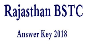 bstc answer key 2018
