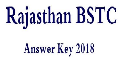 bstc answer key 2018