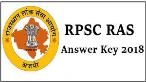 RAS Answer key 2018 Question Paper And Answer key Download PDF File