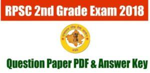 RPSC-2nd-grade-answer-key-2