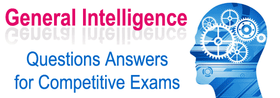 Reasoning Questions With Answers For All Competitive Exams 13/12/2018