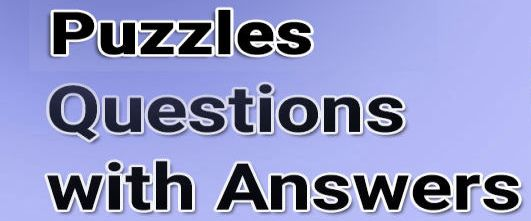 Puzzle Questions with Answers