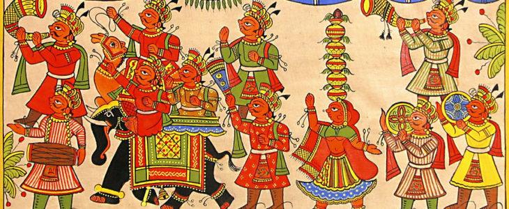 Rajasthan's folk arts राजस्थान की प्रमुख लोक कलाएं